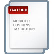 Modified Business Tax Return